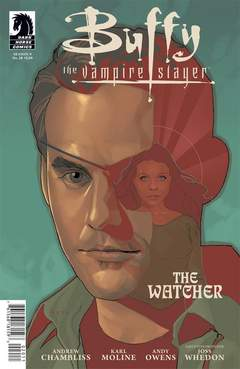 Copertina BUFFY SEASON 9 n.20 - The Watcher, DARK HORSE COMICS