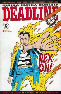 Copertina DEADLINE USA 1992 M2 n.2 - Hunka Hunka Burnin' Deadline, DARK HORSE COMICS