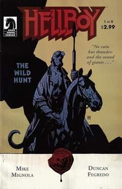 Copertina HELLBOY WILD HUNT M8 n.1 - The Wild Hunt, DARK HORSE COMICS