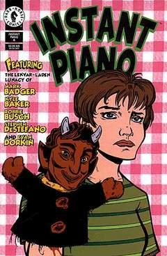 Copertina INSTANT PIANO M4 n.4 - INSTANT PIANO                4, DARK HORSE COMICS