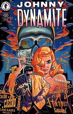 Copertina JOHNNY DYNAMITE M4 n.1 - Underworld:Revenge For A Black-eyed Blond, DARK HORSE COMICS