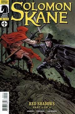 Copertina SOLOMON KANE RED SHADOWS n.2 - Red Shadows, part two of four: Skulls in the Stars, DARK HORSE COMICS