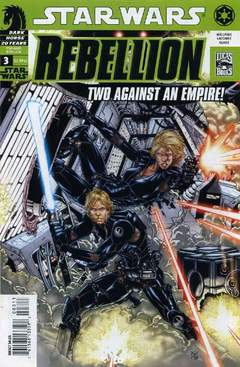 Copertina STAR WARS REBELLION n.3 - My Brother, My Enemy, DARK HORSE COMICS
