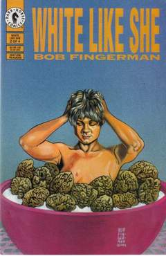 Copertina WHITE LIKE SHE M4 1994 n.2 - Chapter Two - Getting To Know You, DARK HORSE COMICS