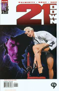 Copertina 21 DOWN n.1 - The Conduit, Part One: Simple Kind of Life, DC COMICS