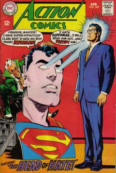 Copertina ACTION COMICS n.362 - The Head Of Hate!, DC COMICS