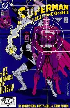 Copertina ACTION COMICS n.682 - Gauntlet!, DC COMICS