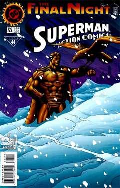 Copertina ACTION COMICS n.727 - Cold Comfort!, DC COMICS