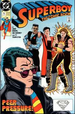 Copertina ADVENTURES OF SUPERBOY S22 n.5 - With Friends Like These..., DC COMICS