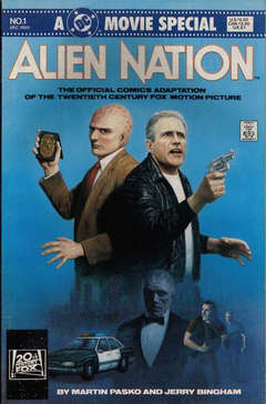 Copertina ALIEN NATION MOVIE SPECIAL n. - Alien Nation, DC COMICS