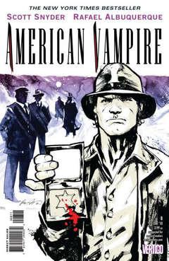 Copertina AMERICAN VAMPIRE n.8 - Devil in the Sand Part Three, DC COMICS