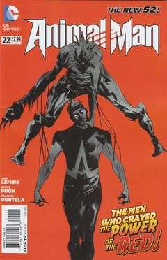 Copertina ANIMAL MAN 2011 n.22 - Splinter Species Part Two, DC COMICS