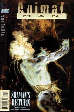 Copertina ANIMAL MAN S89 n.81 - Wild Type Part One: Shaman's Return, DC COMICS