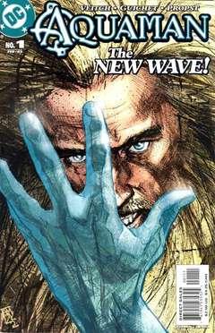 Copertina AQUAMAN SWORD OF ATLANTIS n.1 - Castaway!, DC COMICS
