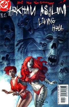 Copertina ARKHAM ASYLUM LIVING HELL M6 n.5 - Chapter Five: Patterns, DC COMICS
