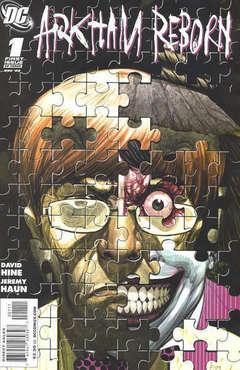 Copertina ARKHAM REBORN (M3) n.1 - Part One: The Raggedy Man, DC COMICS