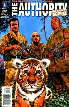 Copertina AUTHORITY MORE KEV M4 n.2 - The Wonderful Thing About Tiggers, Part Two, DC COMICS