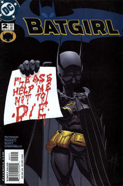 Copertina BATGIRL serie n.2 - I hope to God you never have to read this., DC COMICS