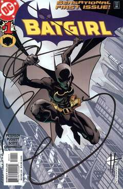 Copertina BATGIRL serie n.1 - You can take off the blindfolds now., DC COMICS