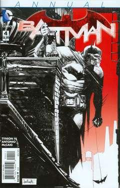 Copertina BATMAN 2011 ANNUAL n.4 - Madhouse, DC COMICS