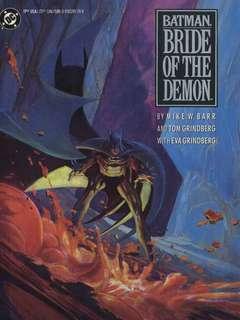 Copertina BATMAN n.28 - BRIDE OF THE DEMON, DC COMICS