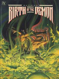 Copertina BATMAN n.44 - BIRTH OF THE DEMON, DC COMICS
