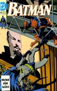 Copertina BATMAN n.446 - When the Earth Dies, Chapter Two: Underworlds, DC COMICS