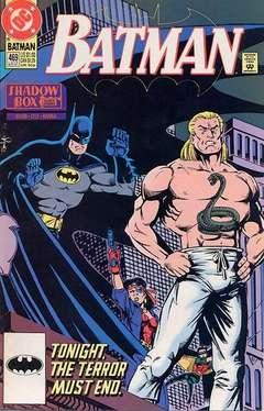 Copertina BATMAN n.469 - Shadow Box, Part Three, DC COMICS
