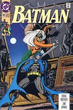 Copertina BATMAN n.482 - Vengeance of the Harpy, DC COMICS