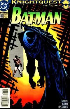 Copertina BATMAN n.507 - Knightquest: The Crusade: Ballistic, DC COMICS