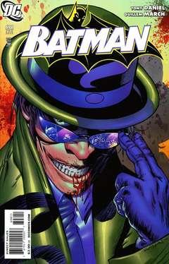 Copertina BATMAN n.698 - Riddle Me This, Part One: Black Magic Tricks, DC COMICS