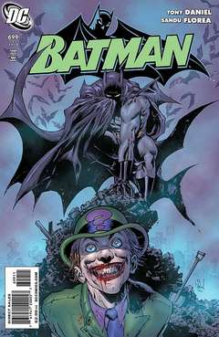 Copertina BATMAN n.699 - Riddle Me This, Part Two: A Means to an End, DC COMICS