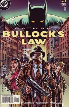 Copertina BATMAN BULLOCK'S LAW n. - BATMAN BULLOCK'S LAW, DC COMICS