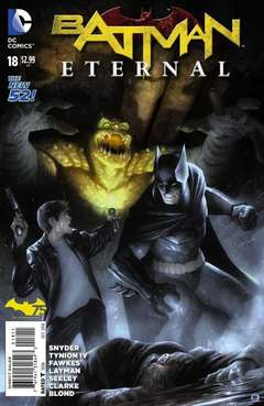 Copertina BATMAN ETERNAL n.18 - A Night On Earth, DC COMICS