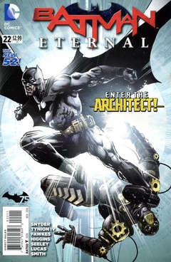 Copertina BATMAN ETERNAL n.22 - Succession Plans, DC COMICS