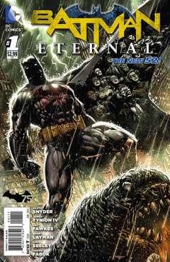 Copertina BATMAN ETERNAL n.1 - BATMAN ETERNAL               1, DC COMICS