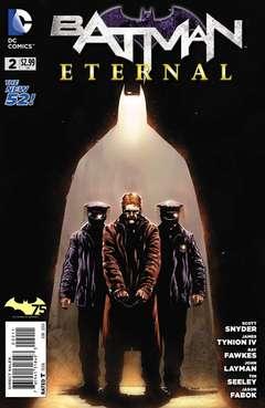Copertina BATMAN ETERNAL n.2 - BATMAN ETERNAL               2, DC COMICS