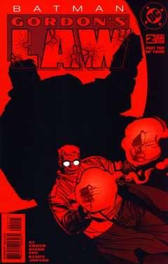 Copertina BATMAN GORDON'S LAW M4 n.2 - Suspicious Minds, DC COMICS