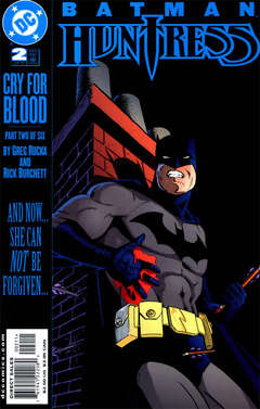 Copertina BATMAN HUNTRESS CRY BLOOD M6 n.2 - Cry for Blood, Part Two, DC COMICS