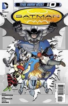 Copertina BATMAN INCORPORATED 2011 n.9 - Leviathan, Part One: Demon Star, DC COMICS