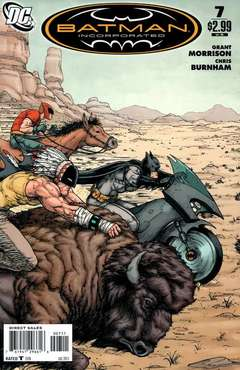 Copertina BATMAN INCORPORATED 2011 n.7 - Medicine Soldiers, DC COMICS