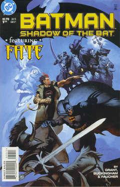 Copertina BATMAN SHADOW OF BAT 1992 n.70 - The Spirit of 2000, Part Two: Gothamageddon?, DC COMICS