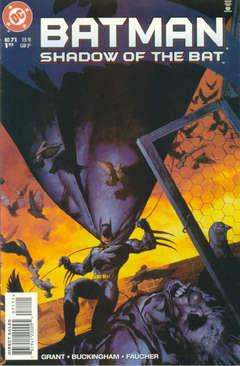 Copertina BATMAN SHADOW OF BAT 1992 n.71 - Anatomy of a Murder, DC COMICS