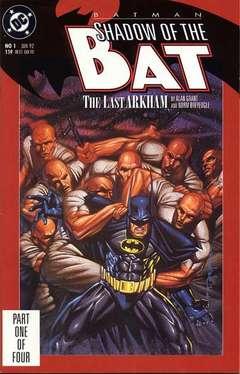 Copertina BATMAN SHADOW OF BAT 1992 n.1 - The Last Arkham, Part One, DC COMICS