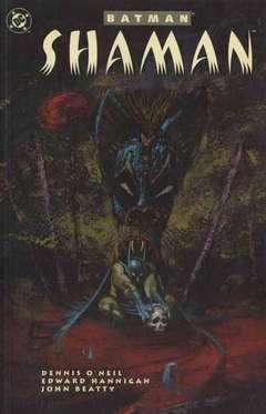 Copertina BATMAN n.9 - SHAMAN, DC COMICS