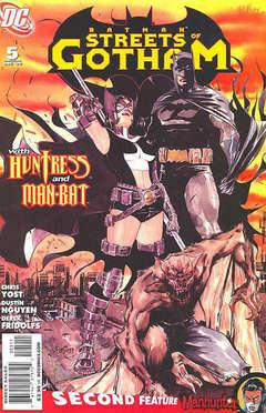 Copertina BATMAN STREETS OF GOTHAM n.5 - BATMAN STREETS OF GOTHAM     5, DC COMICS