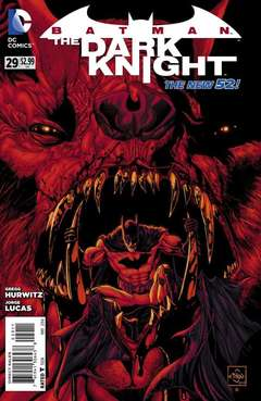 Copertina BATMAN THE DARK KNIGHT 2011 n.29 - In the Shadow, DC COMICS