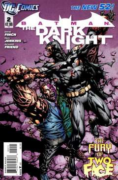 Copertina BATMAN THE DARK KNIGHT 2011 n.2 - A Rush of Blood, DC COMICS