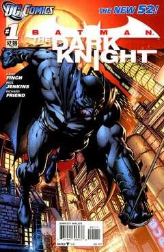 Copertina BATMAN THE DARK KNIGHT 2011 n.1 - Knight Terrors, DC COMICS