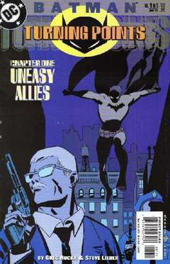 Copertina BATMAN TURNING POINTS M5 n.1 - 'Til Death Do Us Part: A Story of Year One, DC COMICS